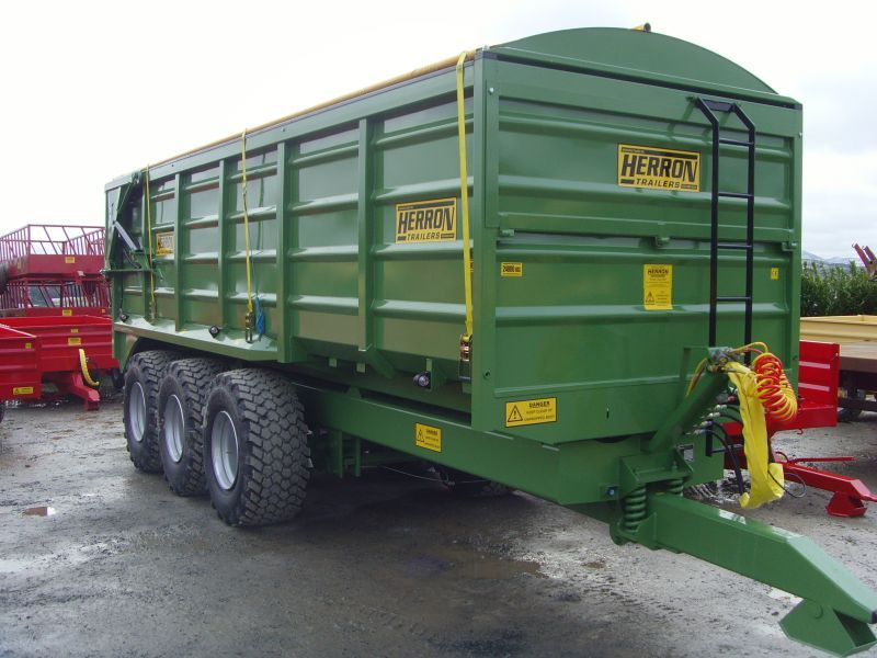 New Herron Trailers 2T to 24T grain/silage/flat/dump trailers