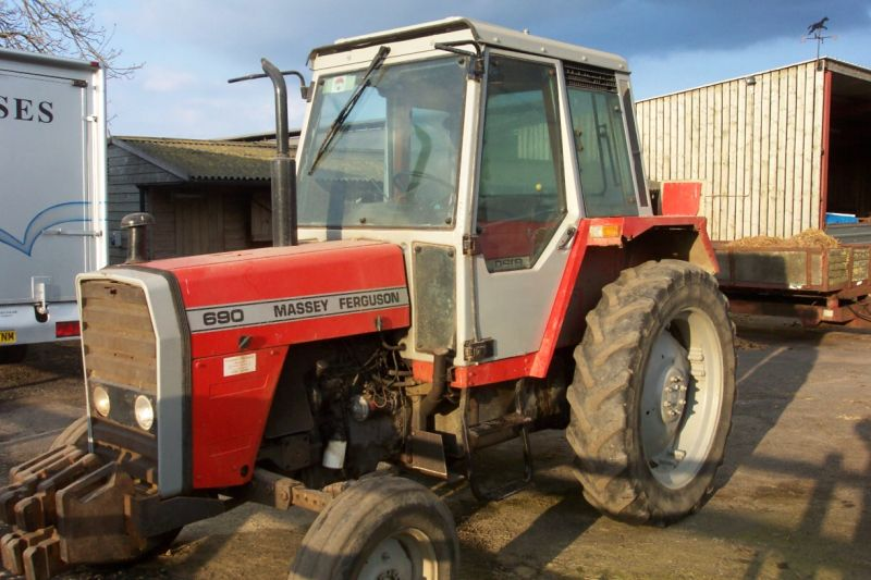 MF 690    Recently Sold    Browns Agricultural Machinery on Farm Machinery And Equipment