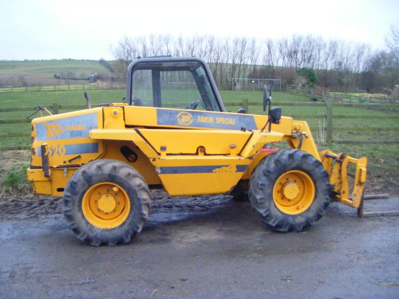 JCB 520-55 LOADALL :: Recently Sold :: Browns Agricultural Machinery