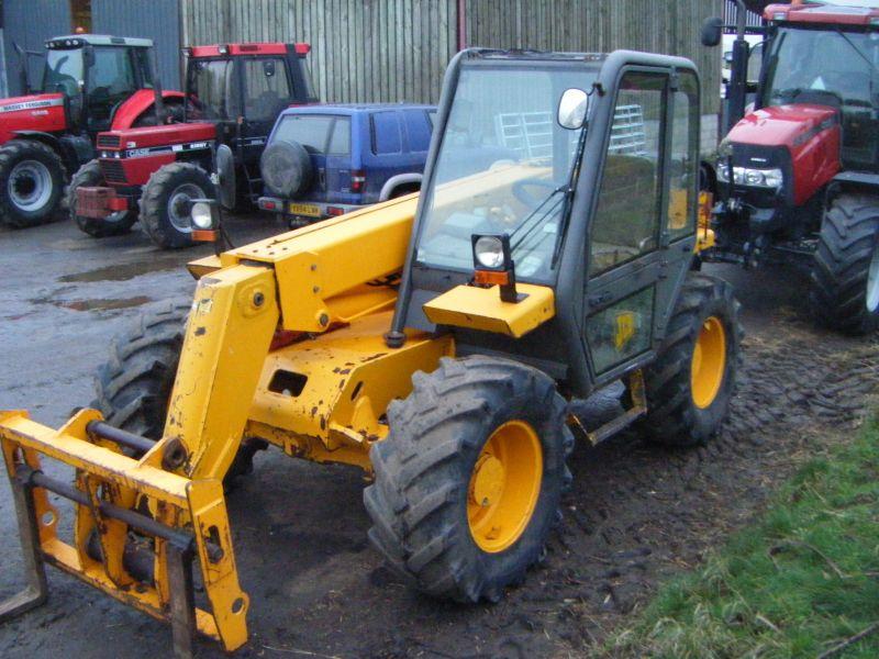 Jcb 520 -55 4wd Farm special