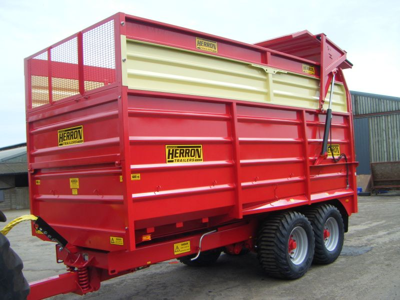 Make an Enquiry about HERRON SILAGE TRAILERS