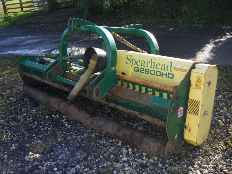 SPEARHEAD Q2800 HD FLAIL TOPPER :: Recently Sold :: Browns