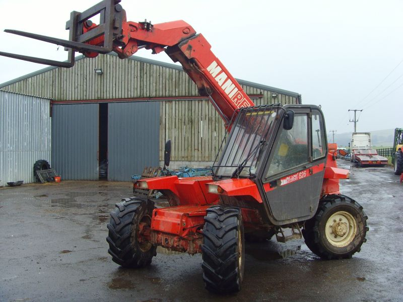 Used Farm Tractors >> Manitou Forklift :: Recently Sold :: Browns Agricultural Machinery